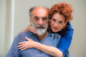 Lucrezia Lante della Rovere e Alessandro Haber al Teatro La Pergola