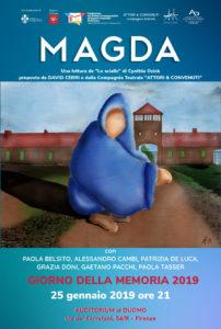 """""""Magda"""" celebra a Firenze il Giorno della Memoria"""