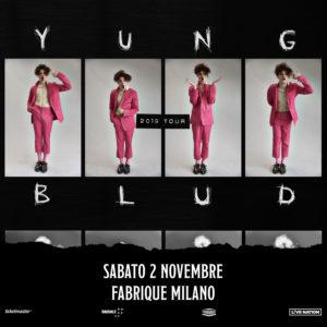 Annunciato il primo concerto italiano di Yungblud
