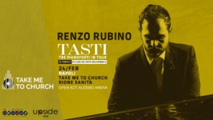 Renzo Rubino apre la terza edizione di Take Me To Church
