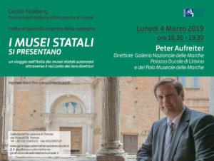Alla scoperta di Urbino con Peter Aufreiter, direttore della Galleria Nazionale Marche