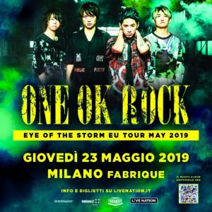 Gli ONE OK ROCK arrivano in Italia