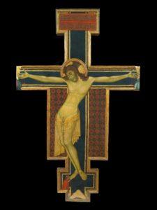 """La croce dipinta del maestro cimabuesco protagonista di """"Recenti restauri"""""""