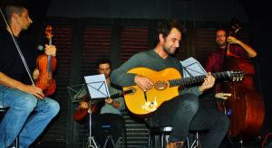 Il Satchmo Gipsy Quartet al Teatro Nuovo di Napoli