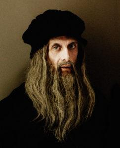 Gianni Quillico e Jacopo Rampini intervistano Leonardo da Vinci