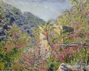 Tre dipinti di Claude Monet tornano a Bordighera e Dolceacqua