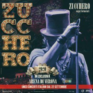 Zucchero torna all'Arena di Verona per il tour 2020