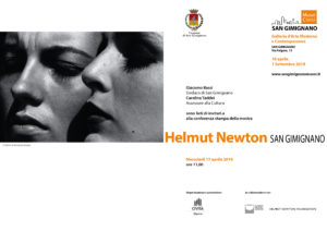 A San Gimignano la retrospettiva dedicata ad Helmut Newton