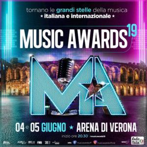 Tornano i Music Awards all'Arena di Verona