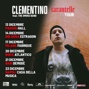 """Clementino torna live con il suo album """"Tarantelle"""""""