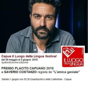 "Saverio Costanzo riceve il premio Placito Capuano per la fiction ""L'amica geniale"""