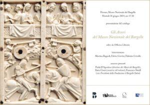 Pubblicato il catalogo dedicato agli avori del Museo Nazionale del Bargello