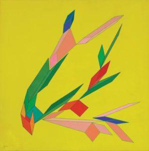 """Achille Perilli in mostra con le sue """"Geometrie Impossibili"""""""