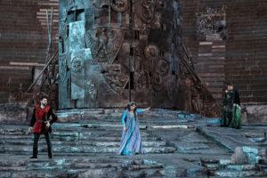 """Terza recita per il """"Trovatore"""" di Verdi all'Arena di Verona Opera Festival 2019"""