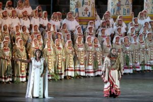 """""""Aida"""" rivive all'Arena di Verona con un cast di respiro internazionale"""