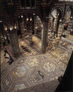 """""""Come in Cielo, così in Terra"""", alla scoperta del magnifico pavimento della Cattedrale di Siena"""