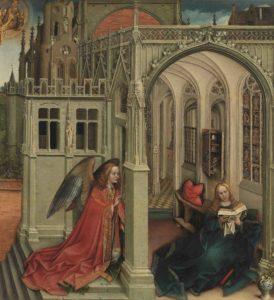 """Il Museo di San Marco accoglie """"L'Annunciazione"""" di Robert Campin"""