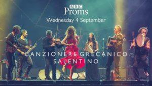 Il Canzoniere Grecanico Salentino si esibisce alla Royal Albert Hall di Londra