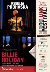 Ksenija Prohaska interpreta la storia di Billie Holiday, regina del jazz blues