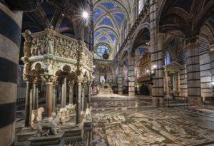 Scopertura straordinaria del Pavimento del Duomo di Siena