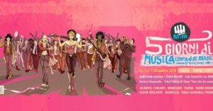 """Grandi ospiti e temi di rilievo per l'edizione 2019 di """"Musica contro le mafie"""""""