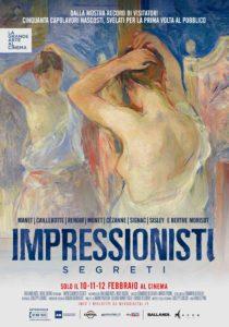 """""""Impressionisti segreti"""", dalla mostra record al grande schermo"""