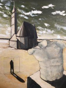 Gustavo Delugan interpreta l'arte come atto di resistenza contro il tempo immobile