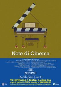 """""""Note di cinema"""" è il nuovo appuntamento proposto dal Teatro No'hma"""