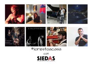 Ottimi consensi per la rassegna #iorestoacasa con SIEDAS