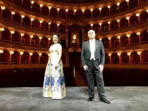Rosa Feola e Roberto Frontali interpreti per la Festa della Musica di Roma