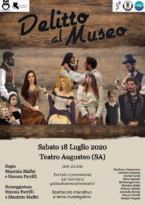 """""""Delitto al Museo"""", a Salerno una serata dedicata al giallo"""
