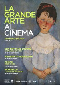 La Grande Arte al Cinema torna in autunno con quattro imperdibili appuntamenti