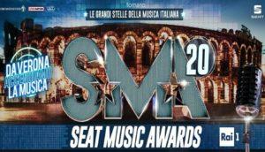"""L'Arena di Verona ospita la quattordicesima edizione dei """"Seat Music Awards"""""""