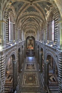 Nuova ed eccezionale apertura del pavimento del Duomo di Siena