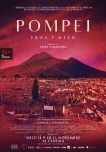 """""""Pompei, Eros e Mito"""", Isabella Rossellini ci conduce alla scoperta del sito archeologico più famoso"""