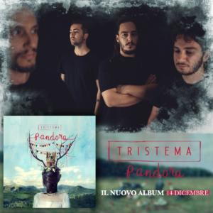 """I Tristema tornano dopo otto anni con """"Pandora"""", il loro nuovo lavoro discografico"""