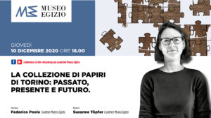 I papiri tra passato, presente e futuro nella conferenza in streaming del Museo Egizio