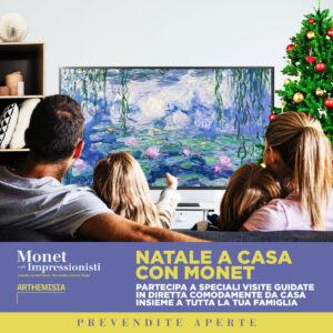 """""""Natale a casa con Monet"""" per regalarsi e regalare l'arte impressionista"""