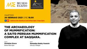 Ramadan Badry Hussein illustra le nuove scoperte archeologiche di Saqqara