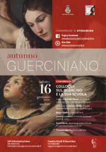 """""""Colloqui sul Guercino e la sua scuola"""", riprendono gli appuntamenti in streaming"""