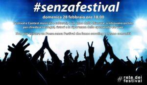 #senzafestival, un evento online per dire sì alla riapertura dei luoghi della musica