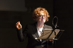 "Laura Curino torna al Teatro No'hma con ""La solitudine del premio Nobel"""