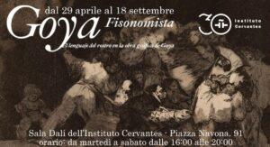 """""""Goya Fisionomista"""", per la prima volta in Italia la mostra dedicata all'artista spagnolo"""