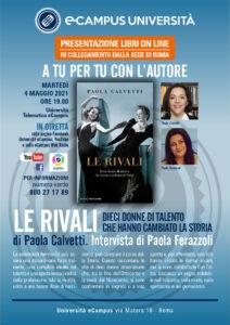 """""""Rivali"""", le eccellenze femminili raccontate nel nuovo libro di Paola Calvetti"""