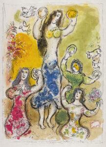 """""""Chagall. La Bibbia"""", a Catanzaro una mostra sul rapporto tra l'artista e l'ebraismo"""
