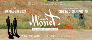 """""""Claude Monet: the Immersive Experience"""" approda alla Chiesa di San Potito di Napoli"""