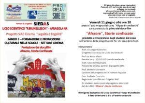"""Bandi SIAE, il Liceo """"Brunelleschi"""" di Afragola presenta il suo evento conclusivo"""