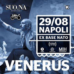 """""""SUONA Bike-in"""", il festival green esordisce con Venerus alla ex Base Nato di Bagnoli"""