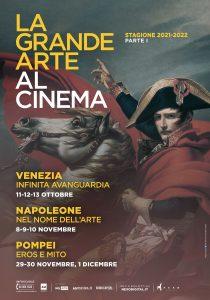 La Grande Arte torna al cinema con tre appuntamenti dedicati a Venezia, Napoleone e Pompei