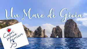 """""""Un Mare di Gioia"""", tutto pronto per la festa organizzata da Capri Senza Barriere"""